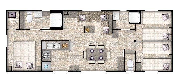 Plan du Genoa Trio