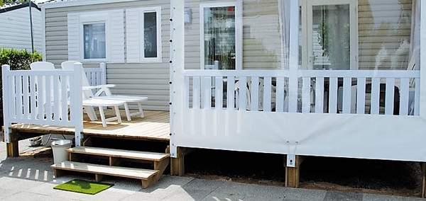 Terrasse mixte bois | PVC